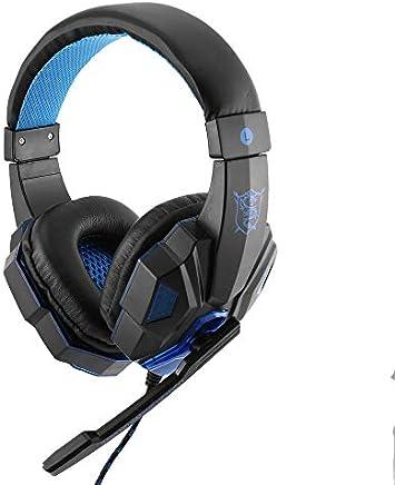 BFHCVDF Auriculares para juegos SY830MV con Luces LED para auriculares Mic-Sound para PS4 / Xbox-One Negro y Azul - Trova i prezzi più bassi