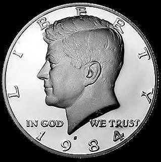 1984 S Proof Kennedy Half Dollar Half Dollar Gem Uncirculated