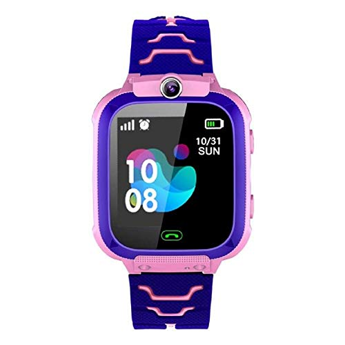 LucaSng Children's Smart Watch Phone Tracker SOS Call Waterproof Watch Touch Screen Digital E-Learning Watch