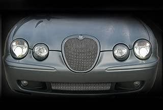Lower Bumper Mesh Grille Finisher Overlay for Jaguar S-Type R 2003-2004