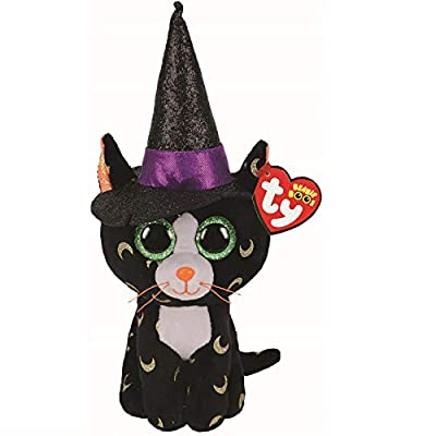 Ty UK Ltd 36235 Pandora Cat Halloween 2020 Plush Toy, Multicoloured, 15cm by Ty