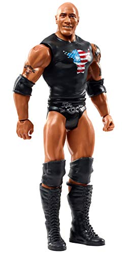WWE GLC47 - bewegliche WWE Action Figur (15 cm) The Rock