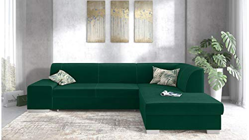 Canapé d'angle Velours Moderne