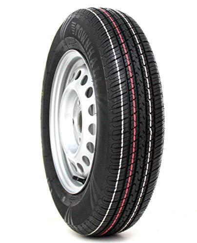 Komplettrad 155/80R13 84N 100x4, PKW Anhänger 5Jx13 Reifen !! 4-LOCH !! 155 80 R 13