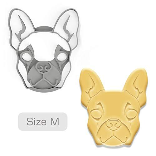 3DREAMS Keksausstecher Frenchy Hunde Ausstecher French Bulldog Ausstechform Ausstecher Weihnachten Ostern Geschenk