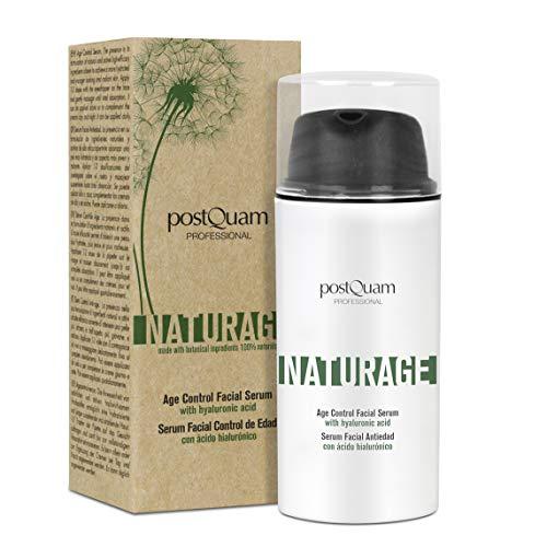 Postquam - Naturage | 100% Natürliches Hyaluronsäure Anti Falten und Anti Aging Serum - 30 ml