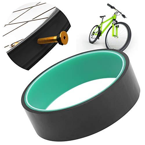 logozoee Cinta de llanta sin cámara para Bicicleta de montaña, Tiras de llanta Anti-Rueda de Bicicleta de 27 mm firmemente duraderas, para protección de neumáticos de Bicicleta, neumático de vacío