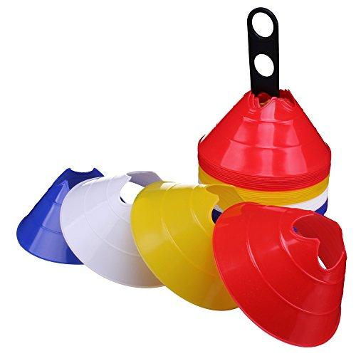 Mini Dome Markierungshütchen, Pylonen - 40 Stück gemischt