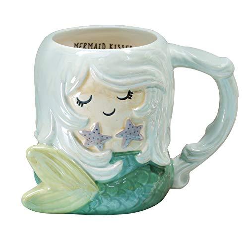 RONGXIANMA Taza 600Ml Animal Lindo 3D Fox Taza de café Taza de Leche de Desayuno de cerámica Pintada a Mano de Dibujos Animados