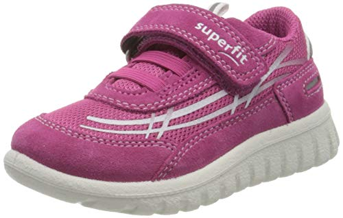 Superfit Mädchen SPORT7 Mini Sneaker, Pink (Rosa 55), 26 EU