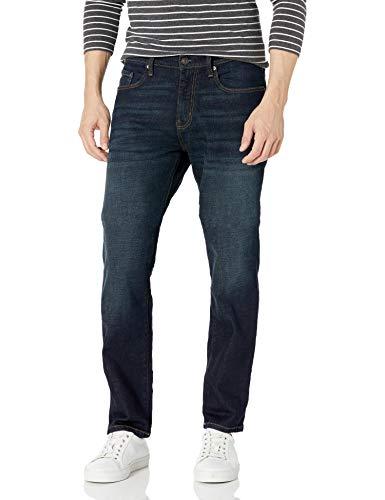Amazon Essentials Athletic-fit Stretch Jean, Rinsed Vintage, 38W / 32L