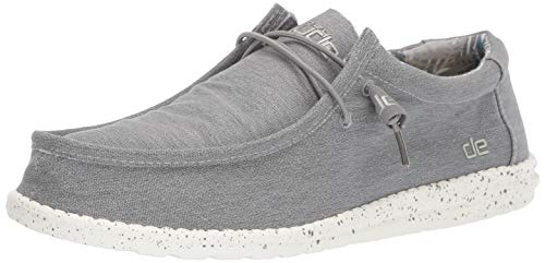 Dude Scarpa Wally Stretch Grigio