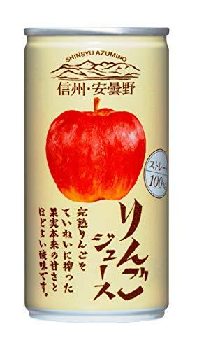 ゴールドパック 信州・安曇野りんごジュース 190g×30本