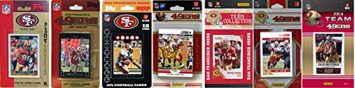 NFL San Francisco 49Ers Lizenziertes Sammelkarten-Team-Set