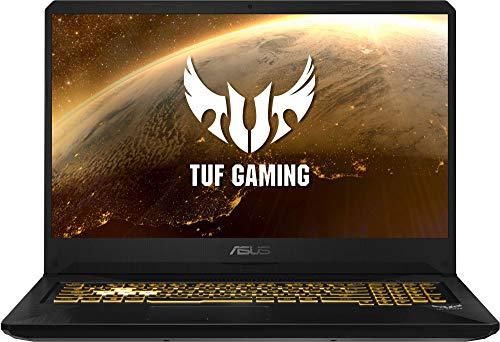 "ASUS TUF Gaming FX705DT-AU018 - Portátil Gaming de 17"" (Ryzen 7 3750H, 16 GB RAM, 512GB SSD, GeForce GTX1650, sin Sistema operativo) Negro - Teclado QWERTY Español"
