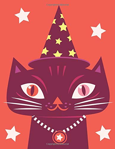 Magic Cat: Daily Diary / journal / notebook to write in and recording your thoughts.