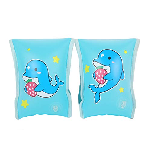 doctor dolphin Inflatable Arm Floats, Arm Bands Floats for Kids Toy Swimming, Inflatable Floaties for Kids Toy