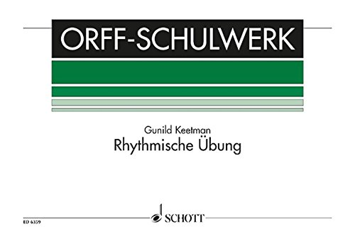 Rhythmische Übung: Orff-Instrumente. Spielpartitur. (Orff-Schulwerk)