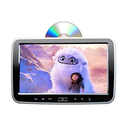 2021 10.1 Inch Headrest DVD Player Car DVD Player Eonon HD Digital Multimedia Monitor Super-Thin Car Headrest DVD Player, Headrest Monitors with HDMI Port and Remote Control USB and SD-L0299A