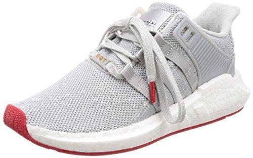 adidas Herren EQT Support 93/17 Gymnastikschuhe, Grau (Matte Silver/Matte Silver/FTWR White), 39 1/3 EU