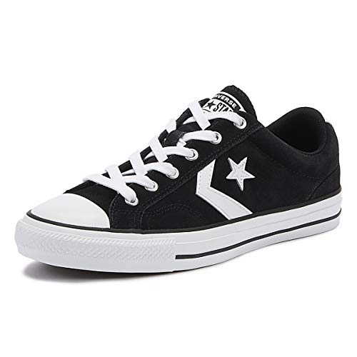 Converse Star Player OX Sneaker schwarz/weiß, 10 US - 44 EU - 10 UK