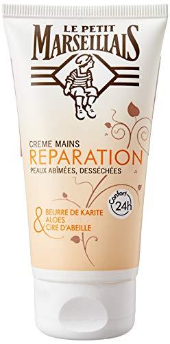 Le Petit Marseillais Crème mains réparation peaux abîmées, desséchées - Le tube de 75 ml