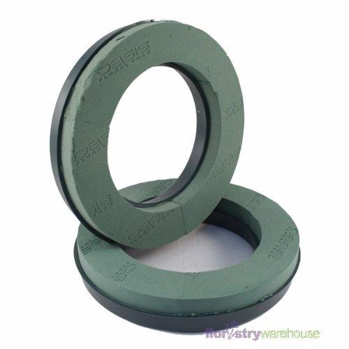 Pack of 2 Oasis Naylorbase Plastic Based Floral Foam Ring 31cm (12')