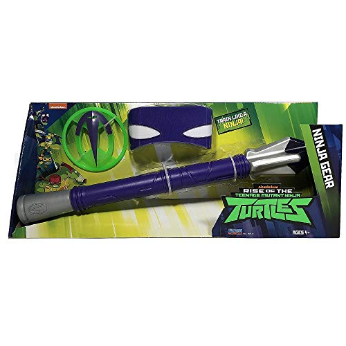 Giochi Preziosi Teenage Mutant Ninja, Turtles Rise Off, Set Armi Ninja, Donatello's Tech-Bo Staff