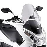 Givi - D322ST - Parabrisas para moto scooter compatible con Honda PCX 125 150 2012
