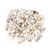 Pssopp Piedras Decorativas para Acuario con diseño de Grava, Color Natural...
