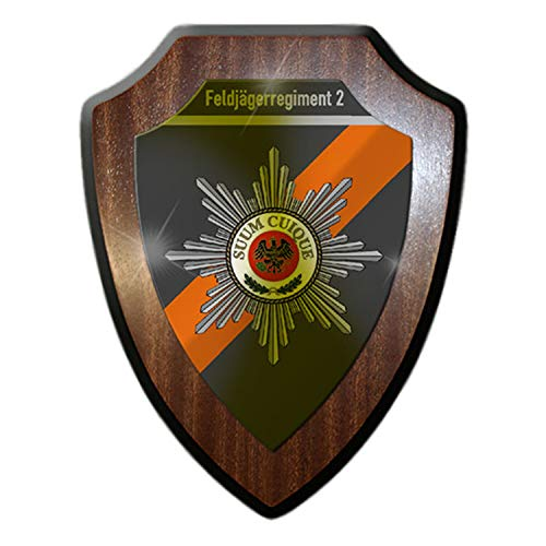 Wappenschild- Feldjägerregiment 2 FJgRgt 2 Bundeswehr Feljäger MP #14928