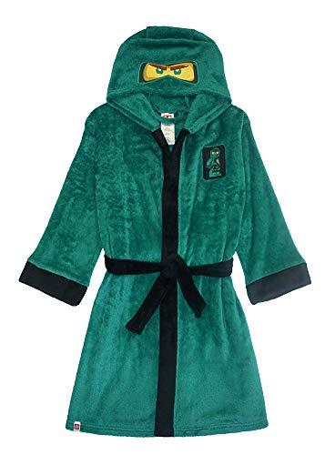 LEGO Ninjago Little/Big Boys Costume Plush Robe, 8, Lloyd Green New