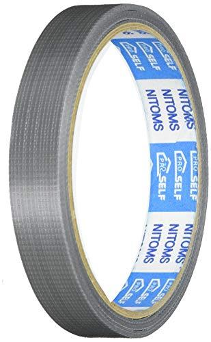 ニトムズ プロセルフ 軽包装用PEクロステープ 銀 15mm×10m J6814