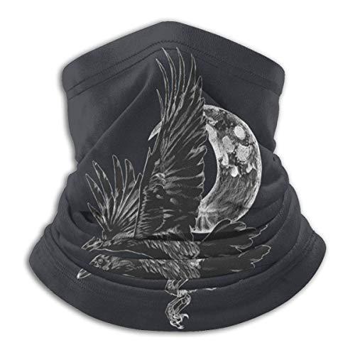 zjipeung Raven en vuelo moda caliente esquí microfibra cuello calentador