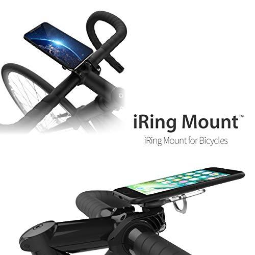 【日本正規代理店】AAUXX(オークス) iRing Mount アイリングマウント スマホ落下防止 自転車用 ホルダー UMS-IR01MBYC