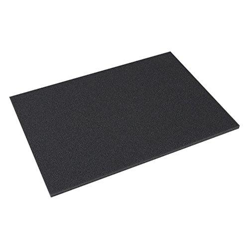 HMF 14510 Boden Schaumstoff, 440 x 315 mm, Koffereinlage, Tabletop, Höhe: 10 mm