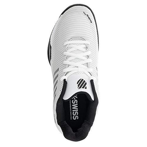 Product Image 5: K-Swiss Men's Hypercourt Express 2 Tennis Shoe (Barley Blue/White/Black, 10)