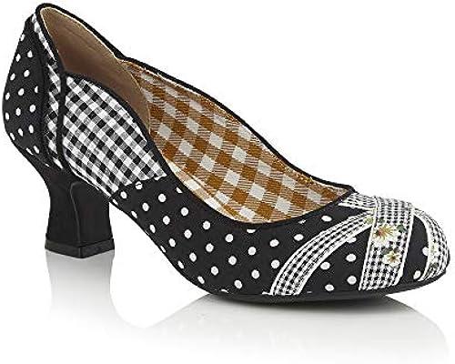 Ruby Shoo Damen Pumps Paula Polka Dot Pepita Floral Schuhe Schuhe Schuhe Geschlossen  Stadion Werbegeschenke
