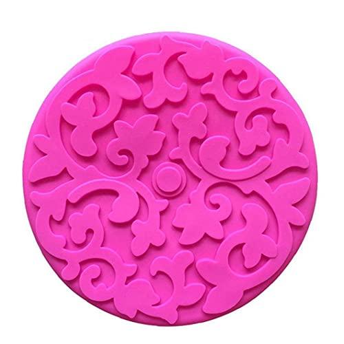 NIDONE Ronda de Silicona hornada de la Torta del Molde de Pastel sartenes Bandeja para Hornear Pan de Pizza Molde de la Torta Color Azar