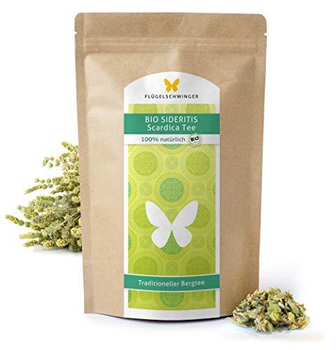200g BIO Sideritis Scardica Tee DE-ÖKO-012, zertifizierte Bio Qualität, Traditioneller Bergtee, geschnitten (200g)