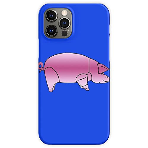 Phone Case Animals 70S Music Pink Pig Floyd 1977 Compatible with iPhone 12 Pro Max 11 Pro Max XR X/Xs Max SE 2020 7/8/6/6s Plus Charm Shockproof Drop