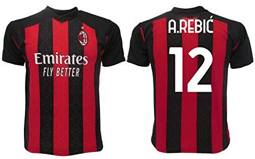 Rebic Milan 2021 Offizielles Trikot 2020–2021 für Erwachsene, Jungen, Kinder, Ante 12 A.Rebi (M, Erwachsene)