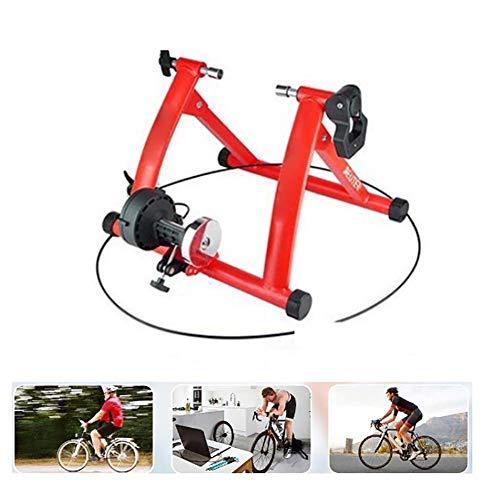 Turbo Trainer, Support de vélo pour vélo Support magnétique d'exercice pour vélo avec Roue de réduction du Bruit pour Les résistances de 7 Cycles