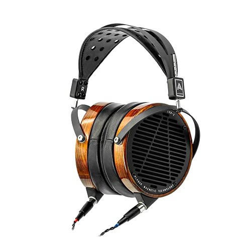 Audeze LCD-2 Audiophile Headphones with Caribbean Rosewood Feb 2021 Version