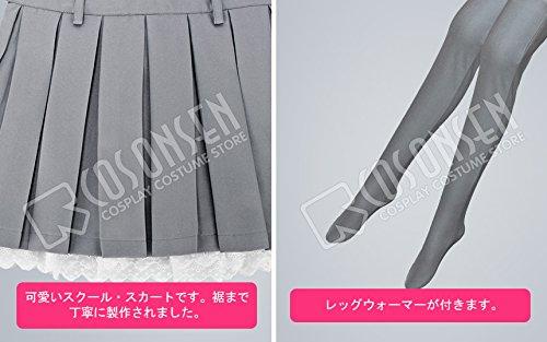 『終わりのセラフ 柊真昼 コスプレ衣装 (女性オーダサイズ)』のトップ画像