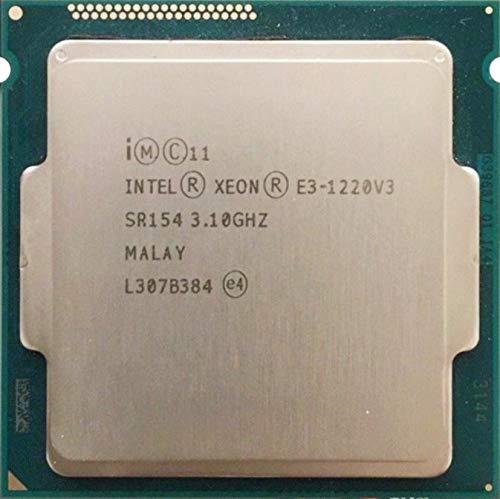 Intel E3-1220V3 31GHz 80W Quad Core CPU SR154-8M 4 núcleos 80 vatios C0