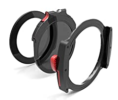 ncludes: M10 Filter Holder with 2 X 100mm filter slots. Holder is Metal except for plastic guides. Includes: M10 Drop-in Rotating Circular Polarizer with built-in Light Seal Gasket Includes M10 Drop-in Light sealing ring Gasket (for use when CPL is n...