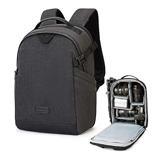 Camera Backpack, BAGSMAR DSLR Camera Bag Backpack, Anti-Theft...