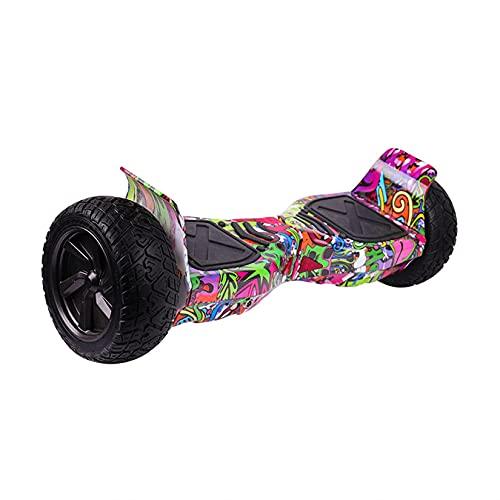 yishan Hoverboard para Niños, Patinete Electrico Auto Equilibrio 8 Pulgadas con Bluetooth,...