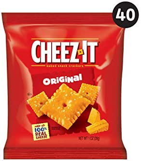 40-Count Cheez-It Original Baked Snack Cheese Crackers